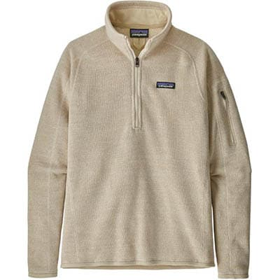 Half zip patagonia sweater
