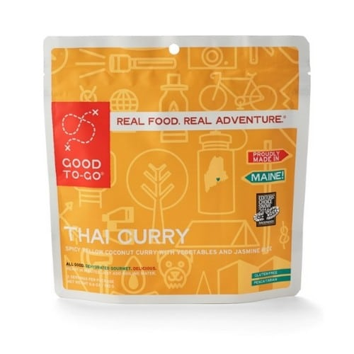 Good to Go Thai Curry package