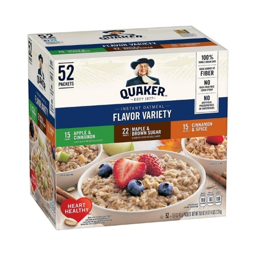 Instant oatmeal package
