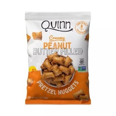 Quinn Peanut butter pretzels
