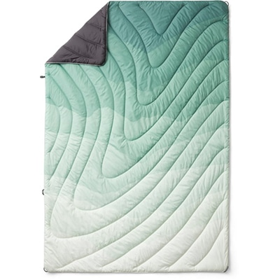 Green rumpl blanket product image