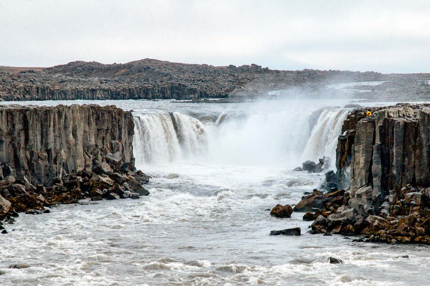 The Selfoss waterfall