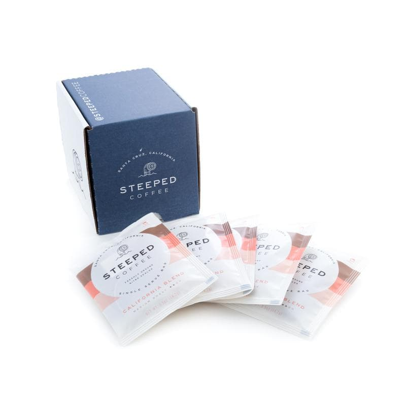 Steeped coffee package