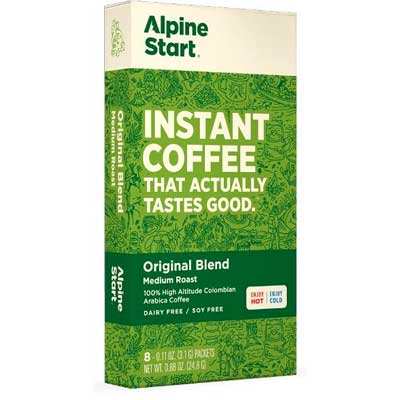 alpine start packaging