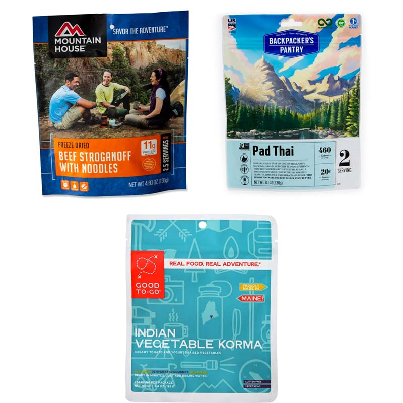 freeze dried backpacking meals product image