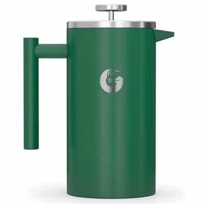 Green french press product image
