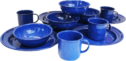 Blue dishes product image
