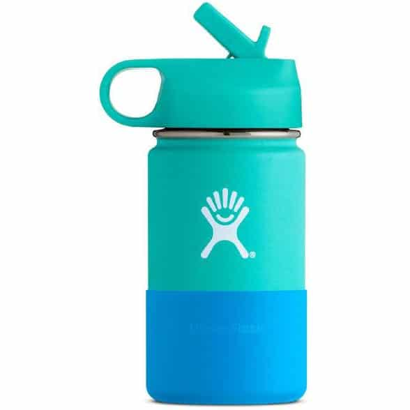 blue water bottle product image