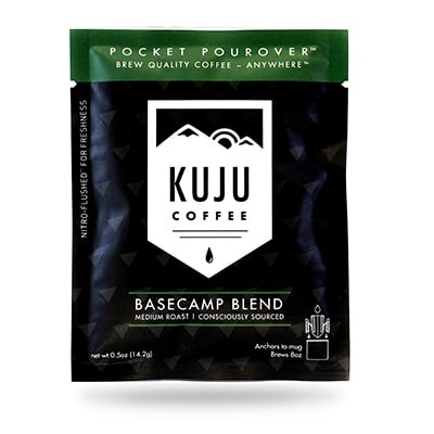 Kuju coffee packaging