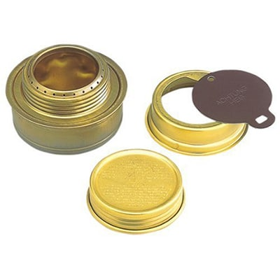Alcohol stove with lid product image